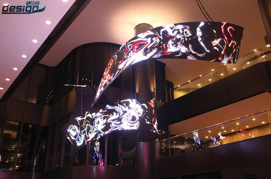 The Tightest Bendable LED Screen in The World