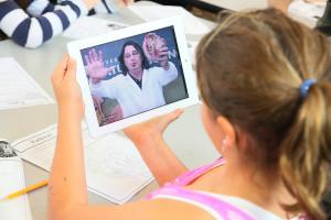 VidyoMobile iPad Education